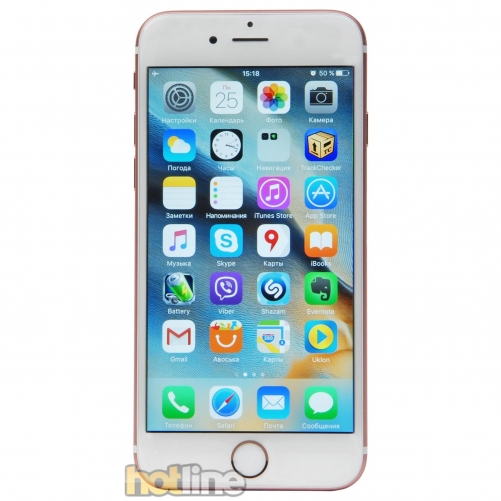 Смартфон                  Apple iPhone 6s 32GB Rose Gold (MN122)