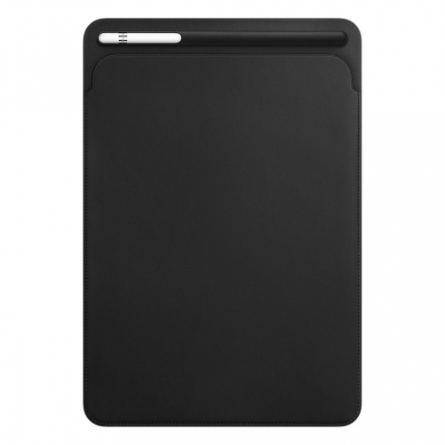 Чехол для планшета                  Apple Leather Sleeve for 10.5 iPad Pro - Black (MPU62)