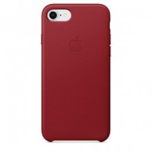 Чехол для смартфона Apple iPhone 8 / 7 Leather Case - PRODUCT RED (MQHA2)