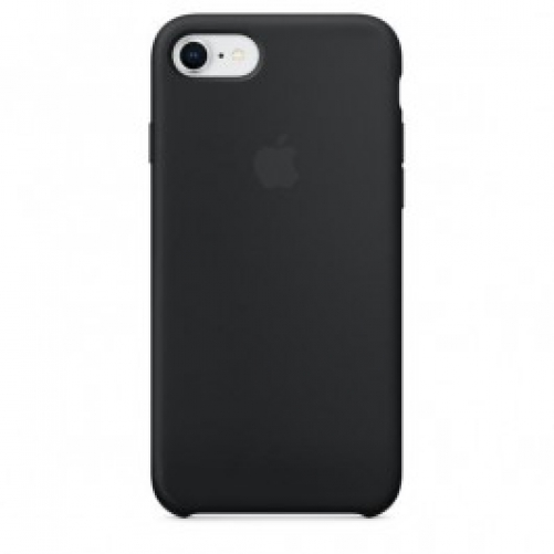 Чехол для смартфона Apple iPhone 8 / 7 Silicone Case - Black (MQGK2)
