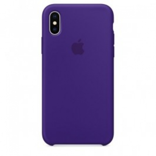 Чехол для смартфона Apple iPhone X Silicone Case - Ultra Violet (MQT72)