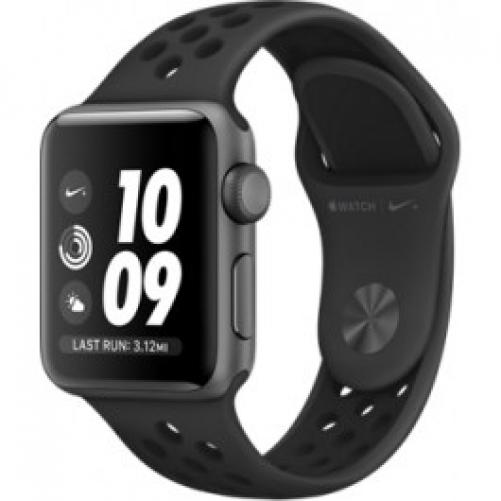 Смарт-часы Apple Watch Nike+ Series 3 (GPS) 42mm Space Gray Aluminum w. Anthracite/BlackSport B. (MQL42)         Новинка