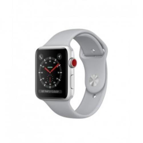 Смарт-часы Apple Watch Series 3 GPS + Cellular 42mm Silver Aluminum w. Fog Sport B. (MQK12)