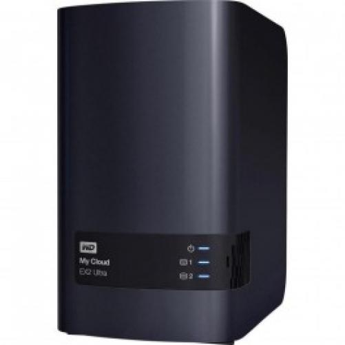 Сетевой накопитель WD My Cloud EX2 Ultra 8TB (BVBZ0080JCH)