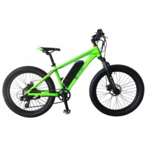 Электровелосипед Like.Bike Fatty (neon green)