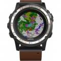 Смарт-часы Garmin D2 Charlie Titanium Bezel with Leather Band (010-01733-31)