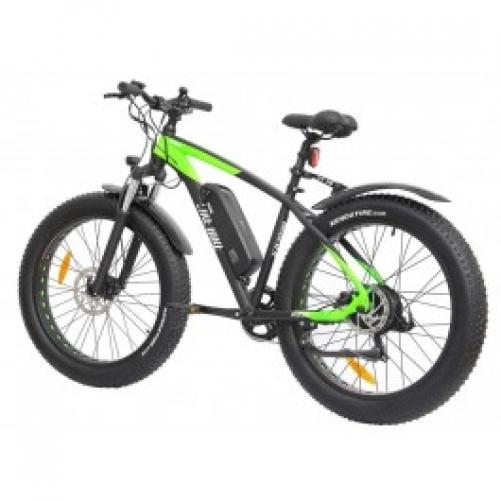 Электровелосипед Like.Bike Bruiser (green/grey)