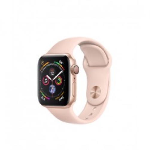 Смарт-часы Apple Watch Series 4 GPS 40mm Gold Alum. w. Pink Sand Sport b. Gold Alum. (MU682 UA/A)