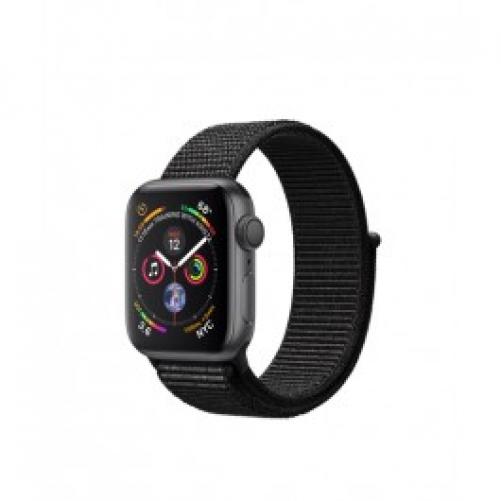 Смарт-часы Apple Watch Series 4 GPS 40mm Gray Alum. w. Black Sport l. Gray Alum. (MU672 UA/A)