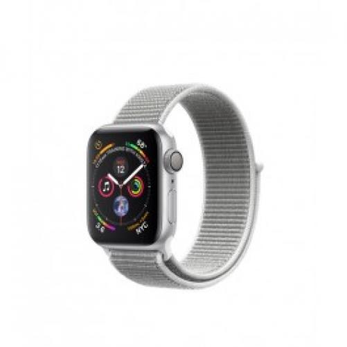 Смарт-часы Apple Watch Series 4 GPS 40mm Silver Alum. w. Seashell Sport l. Silver Alum. (MU652 UA/A)