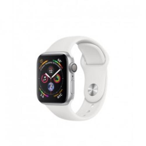 Смарт-часы Apple Watch Series 4 GPS 40mm Silver Alum. w. White Sport b. Silver Alum. (MU642 UA/A)