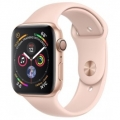 Смарт-часы Apple Watch Series 4 GPS 44mm Gold Alum. w. Pink Sand Sport b. Gold Alum. (MU6F2)             Новинка