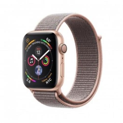 Смарт-часы Apple Watch Series 4 GPS 44mm Gold Alum. w. Pink Sand Sport l. Gold Alum. (MU6G2 UA/A)