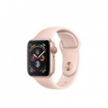 Смарт-часы Apple Watch Series 4 GPS + LTE 40mm Gold Alum. w. Pink Sand Sport b. Gold Alum. (MTUJ2)             Новинка