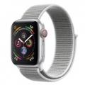 Смарт-часы Apple Watch Series 4 GPS + LTE 40mm Silver Alum. w. Seashell Sport l. Silver Alum. (MTUF2)