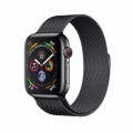 Смарт-часы Apple Watch Series 4 GPS + LTE 44mm Black Steel w. Black Milanese l. Black Steel (MTV62)             Новинка