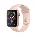 Смарт-часы Apple Watch Series 4 GPS + LTE 44mm Gold Alum. w. Pink Sand Sport b. Gold Alum. (MTV02)             Новинка