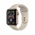 Смарт-часы Apple Watch Series 4 GPS + LTE 44mm Gold Steel w. Stone Sport b. Gold Steel (MTV72)             Новинка
