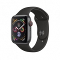 Смарт-часы Apple Watch Series 4 GPS + LTE 44mm Gray Alum. w. Black Sport b. Gray Alum. (MTUW2)             Новинка