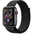 Смарт-часы Apple Watch Series 4 GPS + LTE 44mm Gray Alum. w. Black Sport l. Gray Alum. (MTUX2, MTVV2)