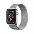 Смарт-часы Apple Watch Series 4 GPS + LTE 44mm Steel w. Milanese l. Steel (MTV42)             Новинка