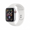 Смарт-часы Apple Watch Series 4 GPS + LTE 44mm Aluminum Case w. White Sport B. (MTUU2)             Новинка