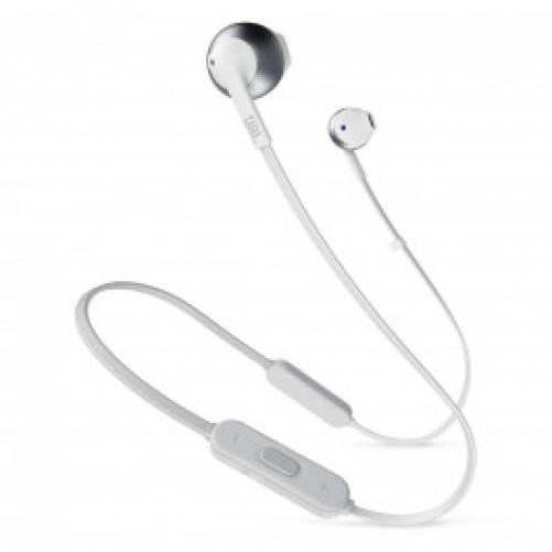 Наушники с микрофоном JBL T205BT Silver (JBLT205BTSIL)