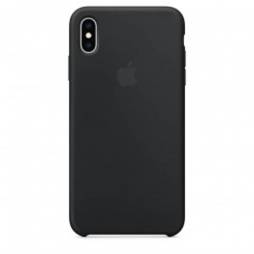 Чехол для смартфона Apple iPhone XS Max Silicone Case - Black (MRWE2)