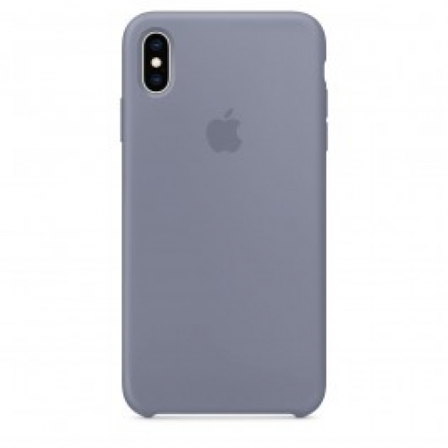 Чехол для смартфона Apple iPhone XS Max Silicone Case - Lavender Gray (MTFH2)