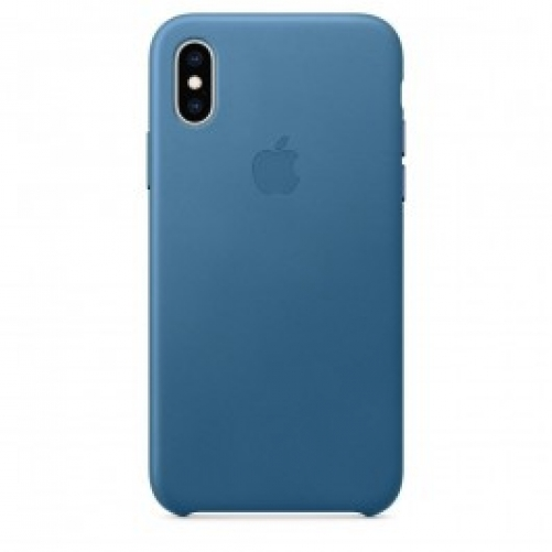 Чехол для смартфона Apple iPhone XS Max Leather Case - Cape Cod Blue (MTEW2)