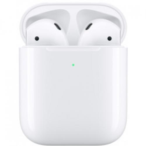 "Наушники TWS (""полностью беспроводные"") Apple AirPods with Wireless Charging Case (MRXJ2)             Новинка"