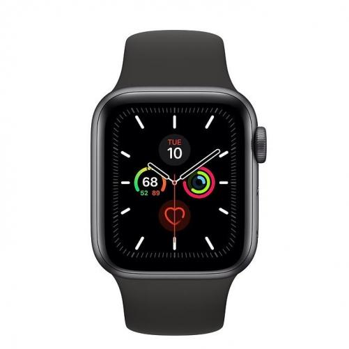 Смарт-часы Apple Watch Series 5 GPS 40mm Space Gray Aluminum w. Black b.- Space Gray Aluminum (MWV82)             Новинка