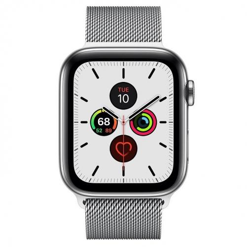 Смарт-часы Apple Watch Series 5 LTE 44mm Steel w. Steel Milanese Loop - Steel (MWW32)             Новинка