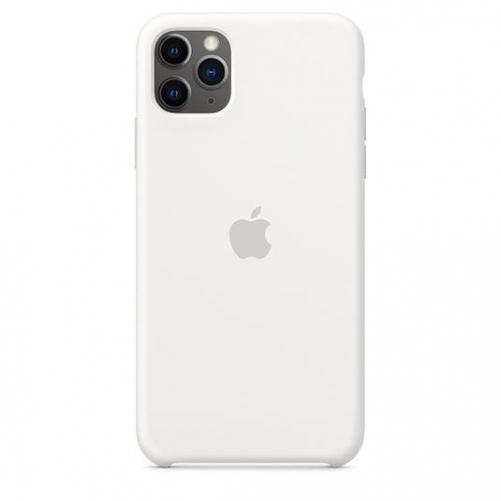 Чехол для смартфона Apple iPhone 11 Pro Max Silicone Case - White (MWYX2)             Новинка