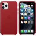 Чехол для смартфона Apple iPhone 11 Pro Max Leather Case - PRODUCT RED (MX0F2)             Новинка