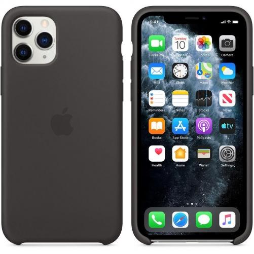 Чехол для смартфона Apple iPhone 11 Pro Silicone Case - Black (MWYN2)             Новинка