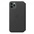 Чехол для смартфона Apple iPhone 11 Pro Max Leather Folio - Black (MX082)             Новинка