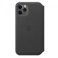 Чехол для смартфона Apple iPhone 11 Pro Leather Folio - Black (MX062)             Новинка