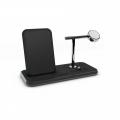 Беспроводное ЗУ для Apple Watch Zens Stand + Dock + Watch Aluminium Wireless Charger 10W Black (ZEDC07B/00)             Новинка