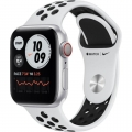 Смарт-годинник Apple Watch Nike Series 6 GPS + Cellular 40mm Silver Alu Case w. Pure Platinum/Black Sport B. (M06J3)             Новинка