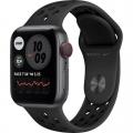 Смарт-годинник Apple Watch Nike Series 6 GPS + Cellular 40mm Space Gray Alu Case w. Anthracite/Black Sport B. (M06L3)             Новинка