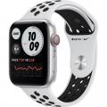 Смарт-годинник Apple Watch Nike Series 6 GPS + Cellular 44mm Silver Alu Case w. Pure Platinum/Black Sport B. (MG2G3)             Новинка