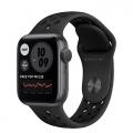 Смарт-годинник Apple Watch Nike Series 6 GPS 40mm Space Gray Aluminum Case w. Anthracite/Black Nike Sport B. (M00X3)             Новинка