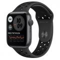 Смарт-годинник Apple Watch Nike Series 6 GPS 44mm Space Gray Aluminum Case w. Anthracite/Black Nike Sport B. (MG173)             Новинка