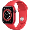 Смарт-годинник Apple Watch Series 6 GPS + Cellular 40mm (PRODUCT)RED Aluminum Case w. (PRODUCT)RED Sport B. (M02T3)             Новинка
