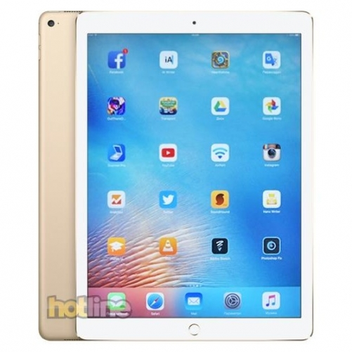 Планшет                  Apple iPad Pro 12.9 Wi-Fi + Cellular 128GB Gold (ML3Q2, ML2K2)